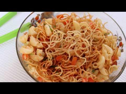 Macaroni Salad Recipe in Hindi Healthy Kadai