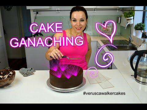 SIMPLE AND EASY GANACHING CHOCOLATE MUD CAKE  BY VERUSCA WALKER