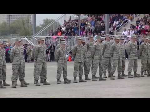 Air Force Basic Military Training Airman's Coin Ceremony, 19 March 2015 (Official)