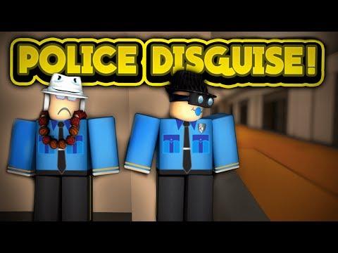 POLICE DISGUISE! (ROBLOX Jailbreak)