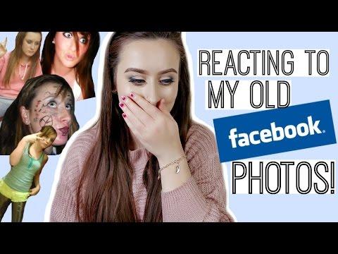 REACTING TO MY OLD FACEBOOK/BEBO PHOTOS