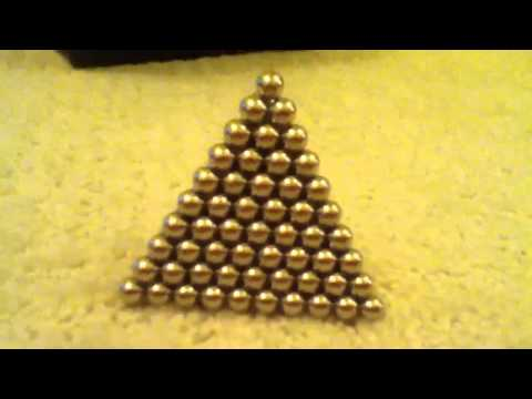 BUCKYBALLS 3D Pyramid really hard! How to to come!
