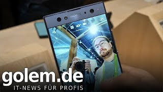 Sony Xperia XA2 Ultra - Hands on (CES 2018)