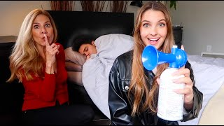 MOM AND I GET REVENGE ON BRENT! (PRANK WARS)