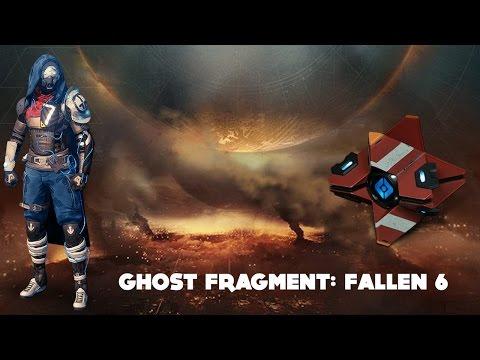 Ghost Fragment: Fallen 6 (Destiny Dead Ghost Age of Triumph)