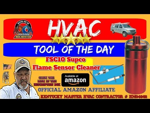 Supco Flame Sensor Cleaner / HVAC Tool of the Day