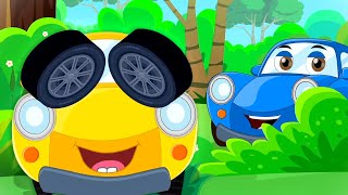 Hide & Seek Song for Kids | Ralph And Rocky | Lets play a game today | Car Cartoons