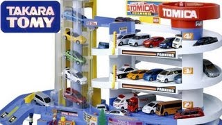Disney Pixar Cars Auto Parking Garage Building Car Toys Tomica Takara Tomy トミカ スーパーオート トミカビル