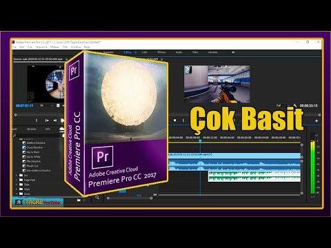 Adobe Premiere Pro CC 2017   Yeni Kulananlar İçin Basit Montaj Yapımı