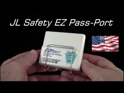 EZ Pass-Port Suction Cup Windshield Mount Toll Pass Holder