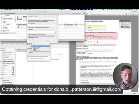 Encrypting Email on OS X and iOS Tutorial