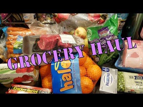 Grocery Haul- IGA 12 30 17