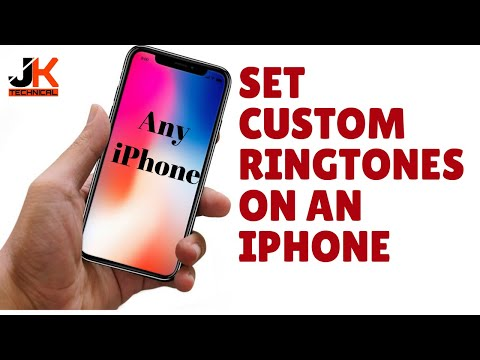 How to set any SONG as RINGTONE on IPHONE.? (2017)(NO JAILBREAK)(NO COMPUTER)