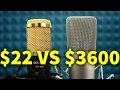 $22 MICROPHONE VS $3600 MICROPHONE   Andrew Huang