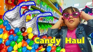 Halloween Kids Candy Haul - Super Fun learning of Candies and toys for Children Toddlers