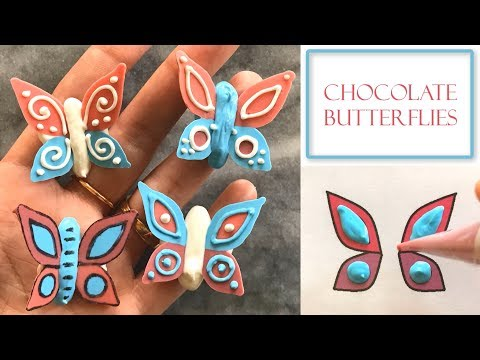 How to Make Chocolate Butterflies | Small Easy Designs