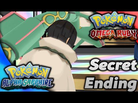 Secret Ending in Omega Ruby Alpha Sapphire