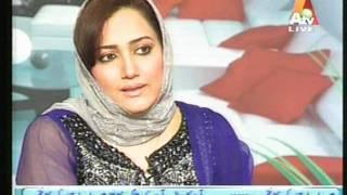 Asma Shirazi - interview - ATV Morning with Farah 1/2