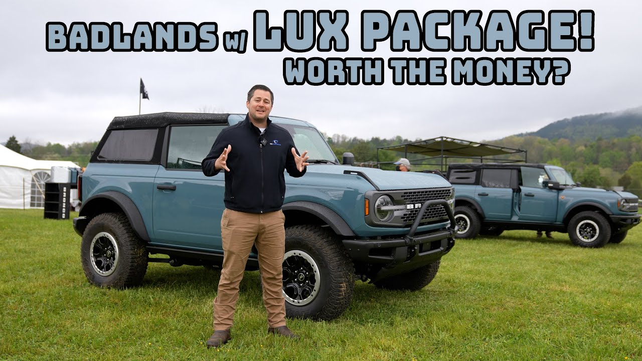 The Technology in the 2021 Ford Bronco Lux Package- EVERYTHING You Need to Know!