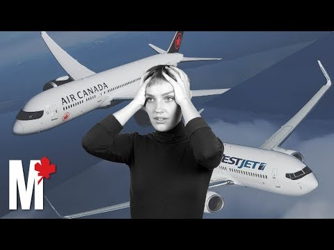 Why are flights in Canada so expensive?