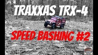 Traxxas TRX-4 Land Rover Defender Speed bashing #2