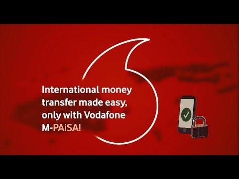 International Money Transfer With Vodafone's M-PAiSA