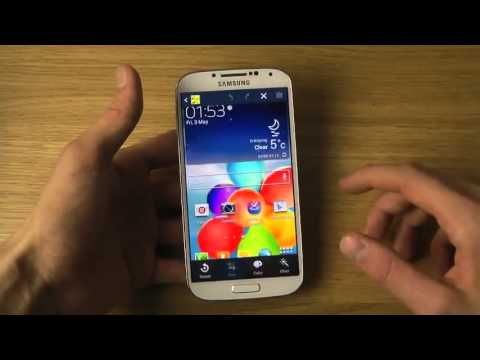 How To Take Samsung Galaxy S4 Screen Shot  Capture _ Print Screen