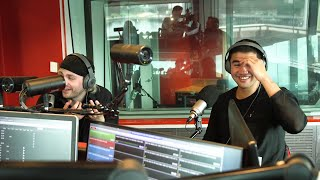 Mikey and Calum from 5 Seconds Of Summer lose it over Fitzy & Wippa's surprise wedding gift