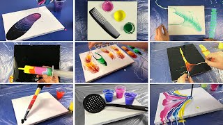20 Satisfying Acrylic Pours In 11 Minutes