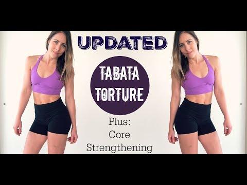 [updated] Tabata Torture + Core Strengthening