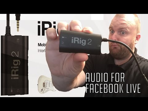 How to get good audio on Facebook LIVE