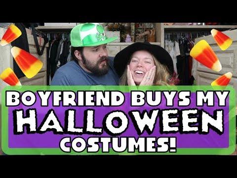 Boyfriend Buys My Halloween Costumes!