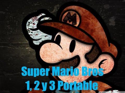 Super Mario Bros 1, 2 y 3 Portable