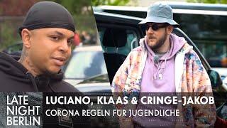 Luciano & Klaas steuern Cringe-Jakob: Corona Regeln für Jugendliche | Late Night Berlin | ProSieben
