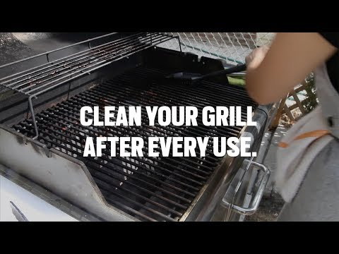 Gas Grilling: Cleaning your grill
