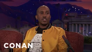 Why Chris Redd Got A Job At Olive Garden  - CONAN on TBS