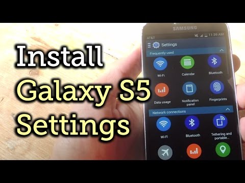 Get the Galaxy S5 Settings for Your Samsung Galaxy S4 [How-To]