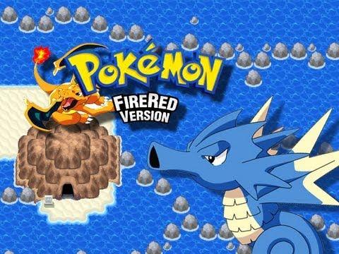 Pokemon FireRed - Fuchsia City to Seafoam Islands - (GBA)
