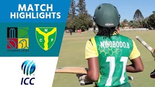 ICC Women's Qualifier 2019 – Africa: Zimbabwe v Nigeria highlights