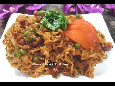 Maggi Noodles | Maggi Recipe | Maggi Noodles Recipe In Hindi | Street Side Masala Maggi Noodles