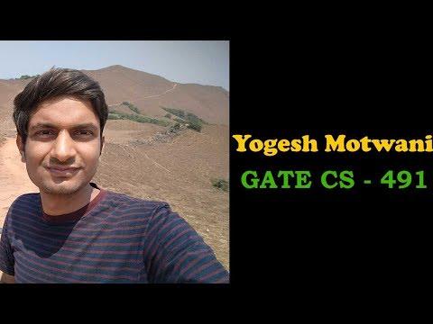 89 Yogesh Motwani AIR 491