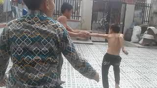 đánh nhau kinh hoàng ở Xuân Hòa