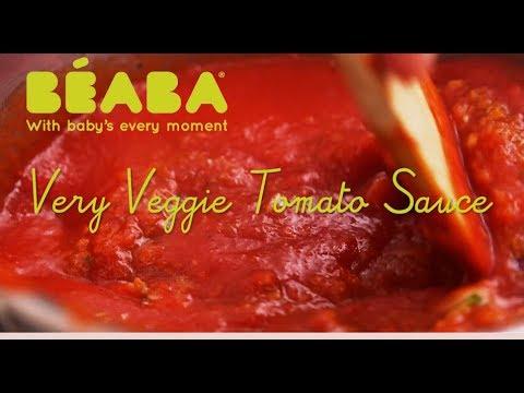 Beaba Babycook Recipe - Very Vegi Tomato Sauce - Direct2Mum