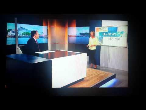 ITV Wales - American Weatherman saying Llanfair PG