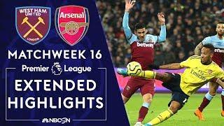 West Ham United v. Arsenal   PREMIER LEAGUE HIGHLIGHTS   12/09/19   NBC Sports