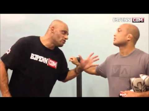 Catching up with BJ Penn 10/2/12