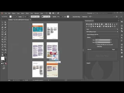 Multi-page PDF Import PowerScript for Adobe Illustrator