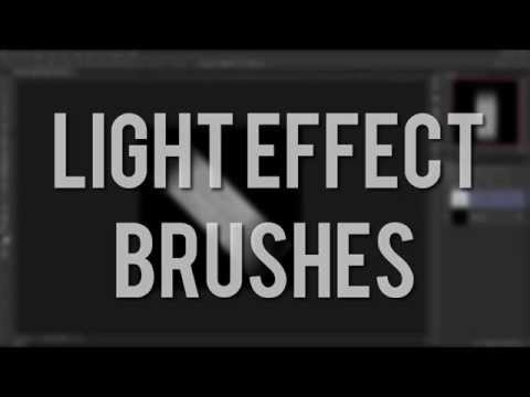 Light Effects Brushes — Photoshop Tutorial