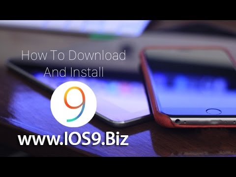 How to Download and Install iOS 9 Beta - iOS 9 UDID Registrations - www.iOS9.biz