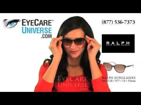 Demostración de las Gafas de sol Ralph Lauren, modelo RA5128 en color Havana